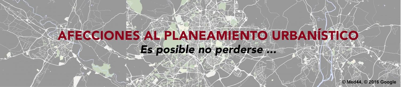 Afecciones al Planeamiento