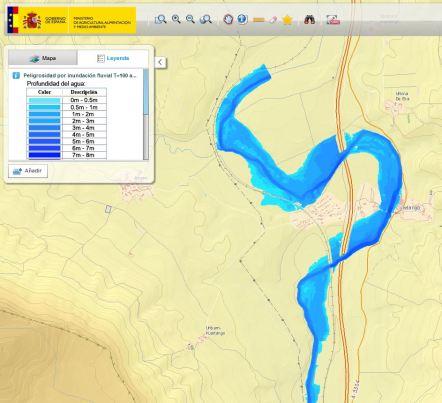 ESP-FLU Geoportal_ mapa peligrosidad Leyenda Zuhatzu