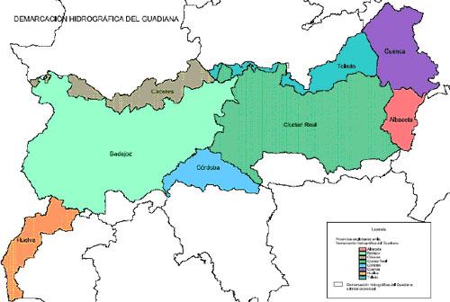 ESP-FLU CHGuadiana mapa_provincial