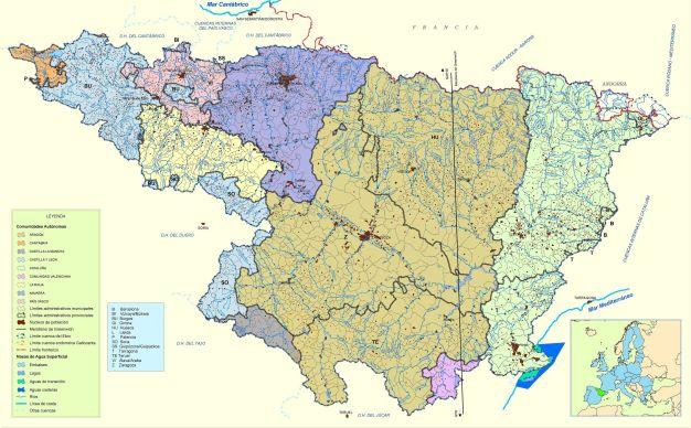 ESP-FLU Mapa CHE DivisionAdm