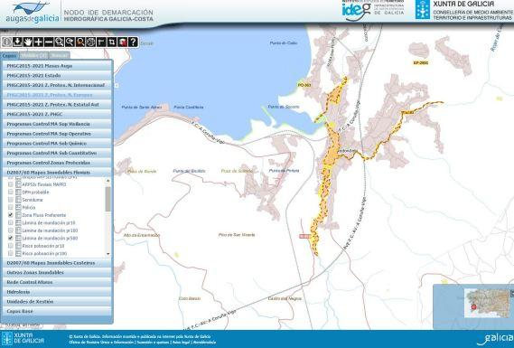 GAL_FLU Mapa inundabilidad FP y T500