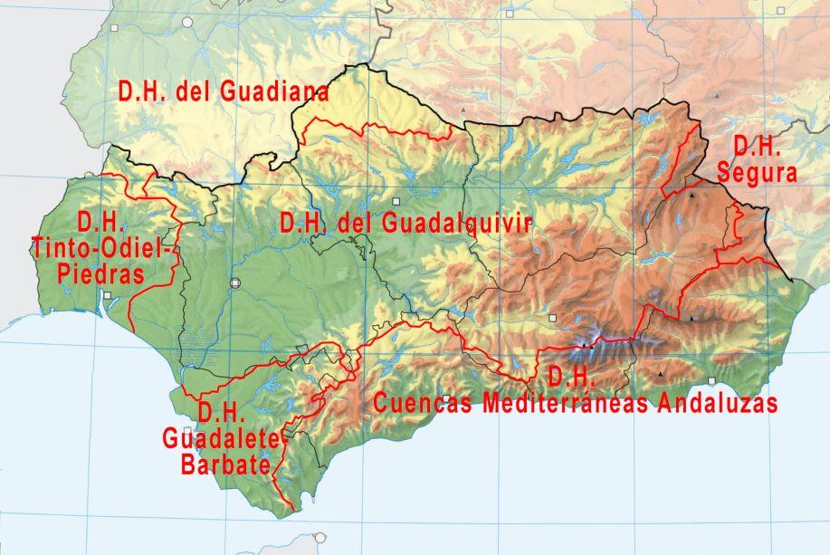AND-FLU mapa demarcaciones H