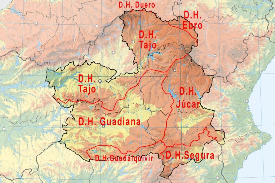 CLM-FLU mapa demarcación h